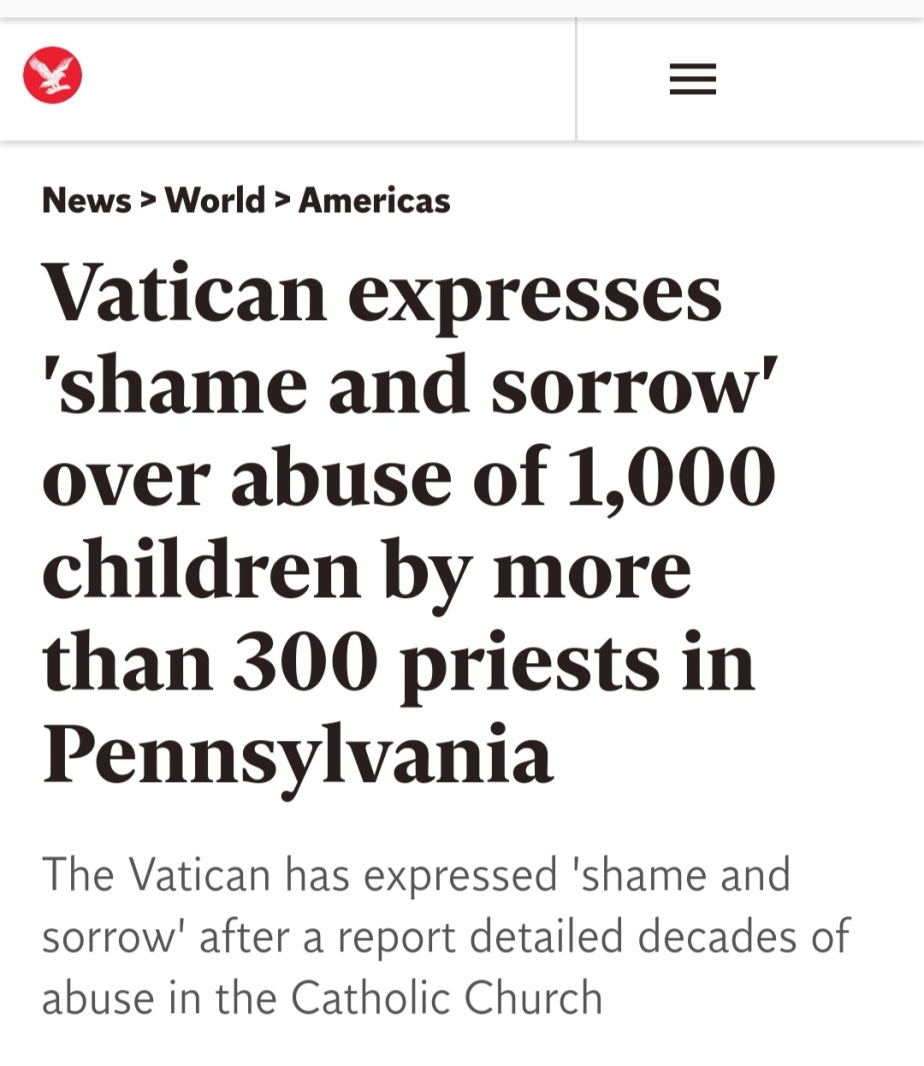 Sexual Abuse & the Vatican